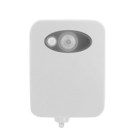 New Style Smart Led Human Motion Sensor Night Light With 8 Color Toilet Seat Lamp