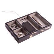 Ebony Dresser Valet - 11.5L x 8W x 1.5H in.