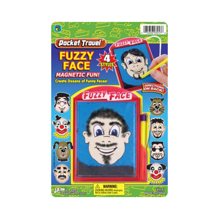 Pocket Travel Fuzzy Face Magnetic Fun
