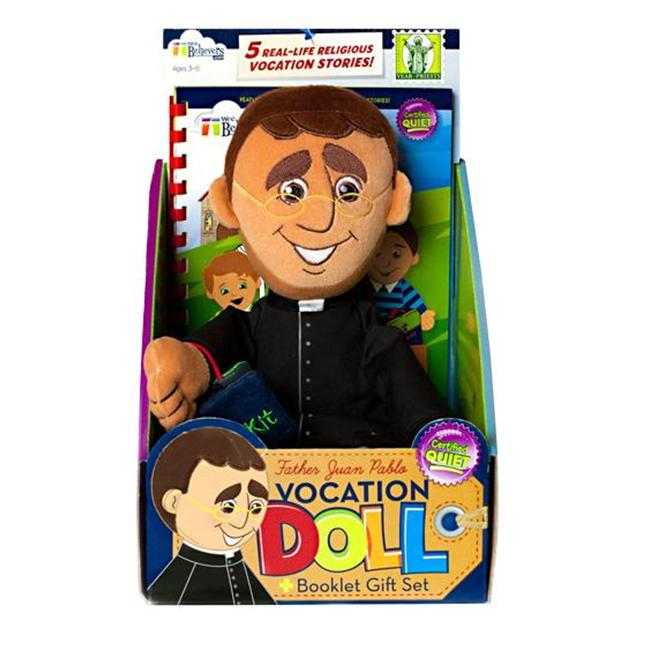 Wee Believers W200901 Father Juan Pablo Vocation Doll
