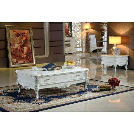 Meridian Furniture Usa Zarah Coffee Table Set