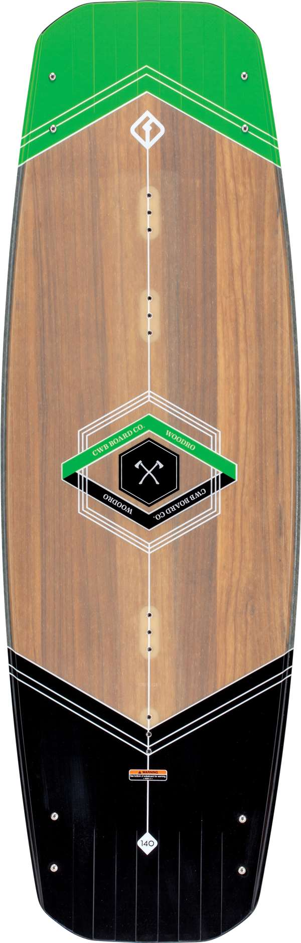 Woodro Wakeboard 140 cm by Connelly