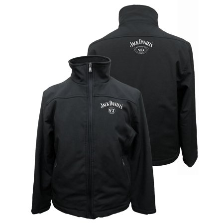 Jack Daniels Men Soft Shell Jacket With Embroidery