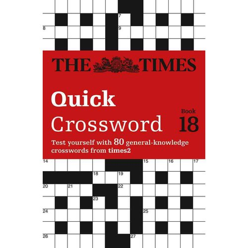 The Times 2 Crossword: Book 18