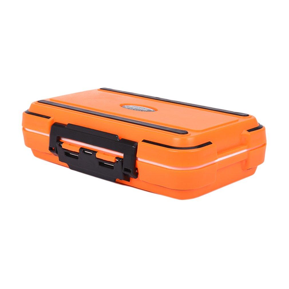 Waterproof Fishing Tackle Box Crush-resistant Hooks Fishing Sinker Case Box by