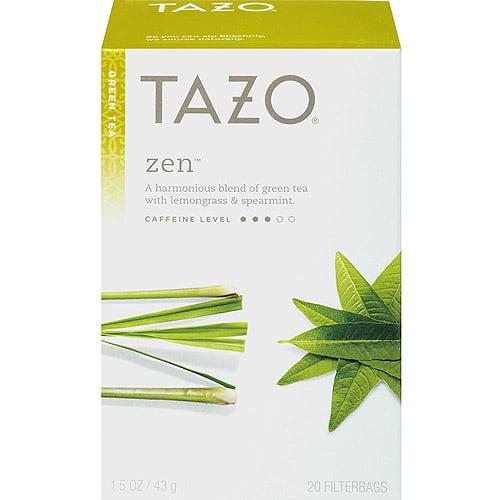 Tazo Zen Green Tea Bags, 20ct
