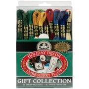 DMC Embroidery Floss Pack 8.7yd, Holiday Decor 30/Pkg