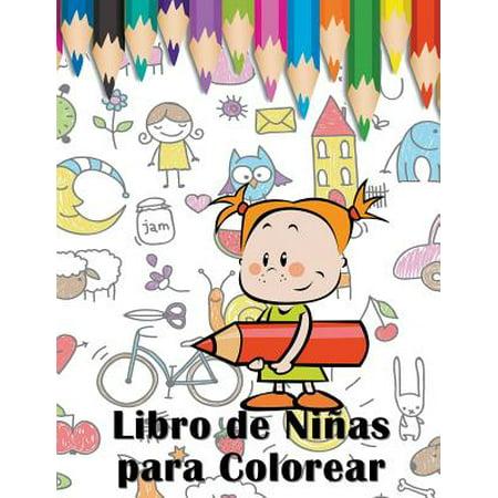 Libro de Ninas Para Colorear (Juguetes Para Ninas De 6 A 10 Anos)