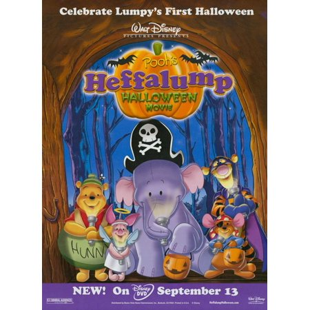 Pooh's Heffalump Halloween Movie POSTER Movie Mini Promo](Halloween Movie Poster For Sale)