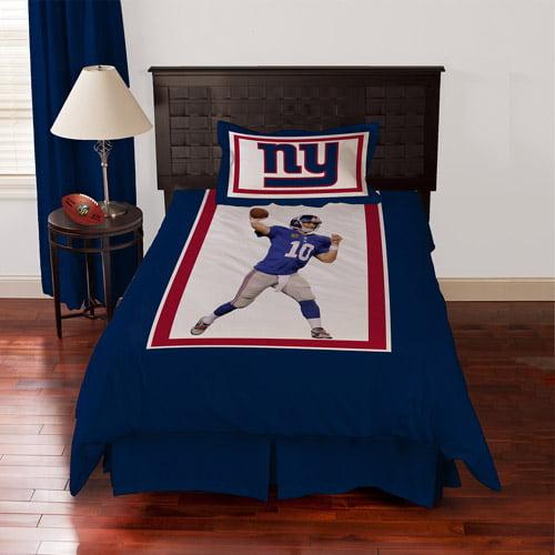 Biggshots New York Giants Eli Manning Bedding Comforter Set Walmart Com