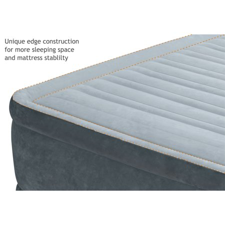 Intex PVC Dura-Beam Series Mid Rise Airbed with Built In Electric Pump, Twin - image 5 of 6