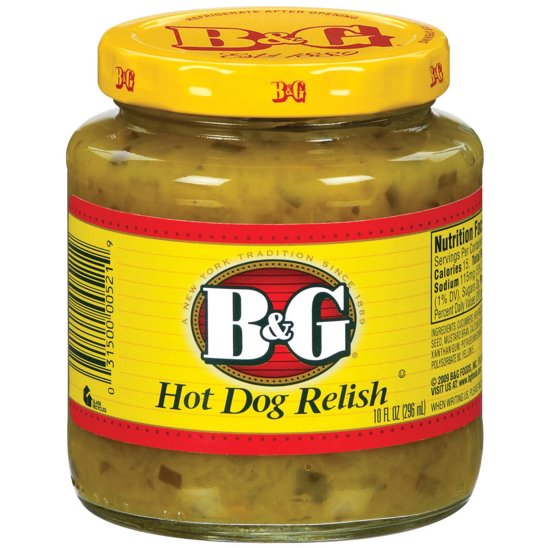 B&G Hot Dog Relish, 10 Fl Oz by B&G