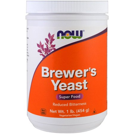 Now Foods, Brewer's Yeast, Super Food, 1 lb (454 g)(pack of 2) 2 Lb Powder Now Foods