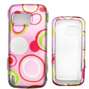 Soul Wireless NK5230SC032 Nokia 5230 Nuron Pink Bubble Snap On Protective Case Cover
