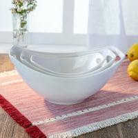 Better Homes & Gardens Porcelain Handled Serve Bowls, Set of 3