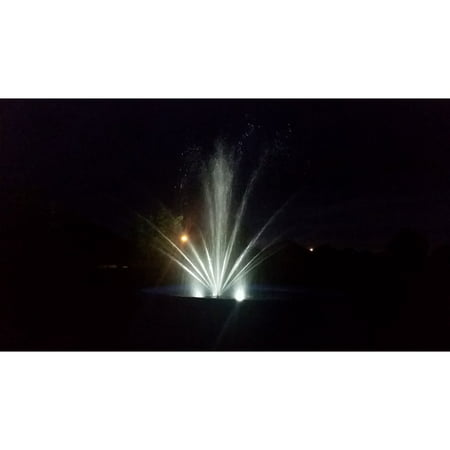 Outdoor Water Solutions 1/2 HP Eco Floating Fountain With Lights