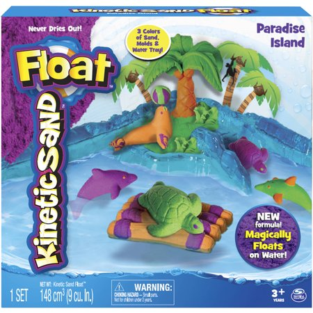 The One & Only Kinetic Sand Float Paradise Island - Kinetic Sand Bulk