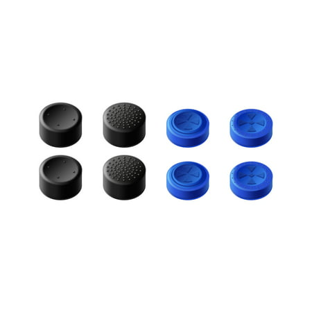 GameSir PS4 Controller Thumb Grips Joystick Protection Cover Caps Set for PS4 / PS4 Slim / PS4 Pro Controller (4 Pairs in Total) ()