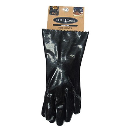 Blue Rhino Global Sourcing 00374TV Insulated BBQ Gloves, Black