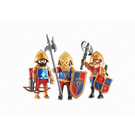 Playmobil Add-On Series - 3 Lion Knights (Lion Knight)