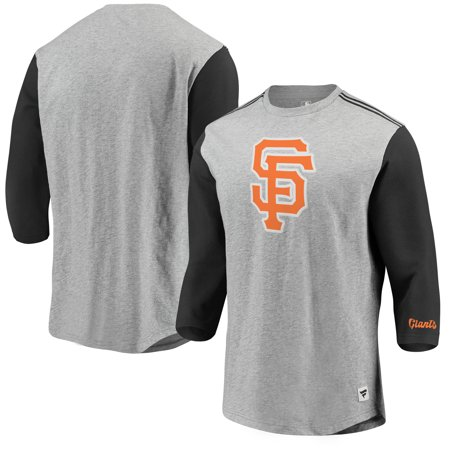 San Francisco Giants Fanatics Branded MLB Heritage Crew Neck 3 4-Sleeve T- 8c9a38fd0
