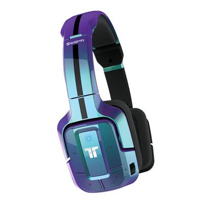 Tritton Swarm Wireless Mobile Headset With Bluetooth Technology - Blue
