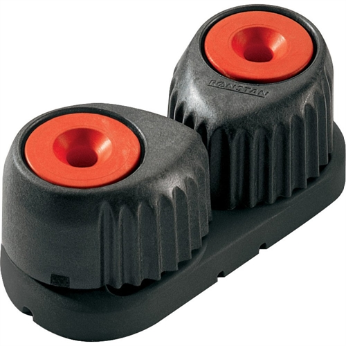 Ronstan Medium C-Cleat Cam Cleat Red W/Black Base