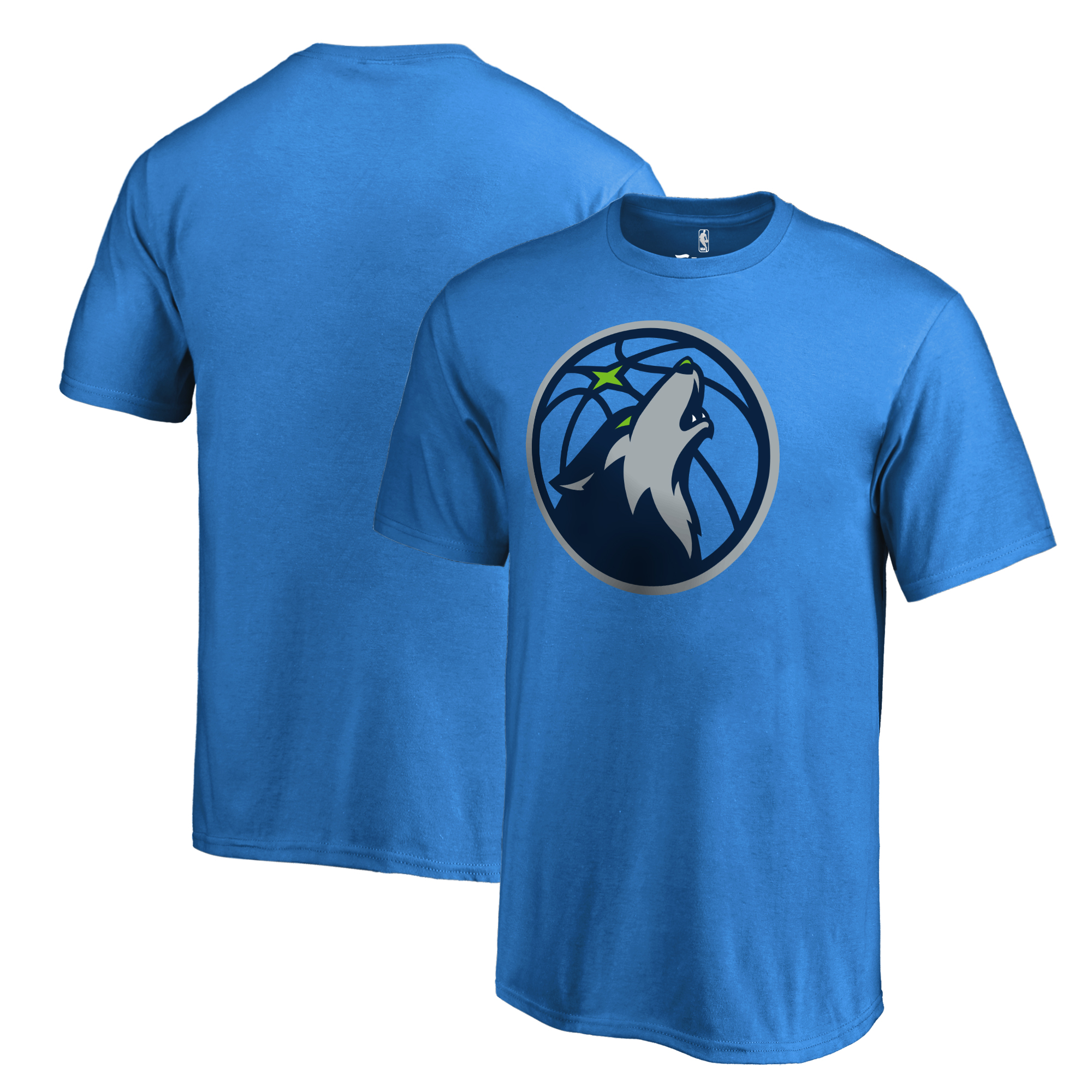 Minnesota Timberwolves Fanatics Branded Youth Primary Logo T-Shirt - Blue
