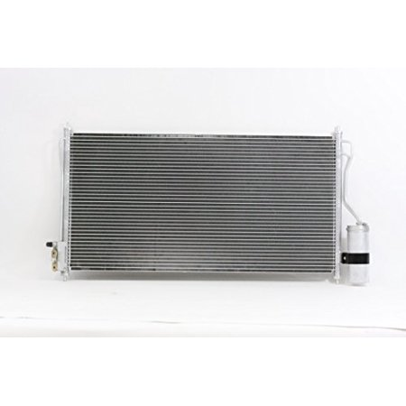 A-C Condenser - Pacific Best Inc For/Fit 3034 04-09 Nissan Quest With Receiver &