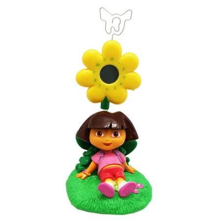 Dora the Explorer Daydreaming Spring Flower Clock Figure