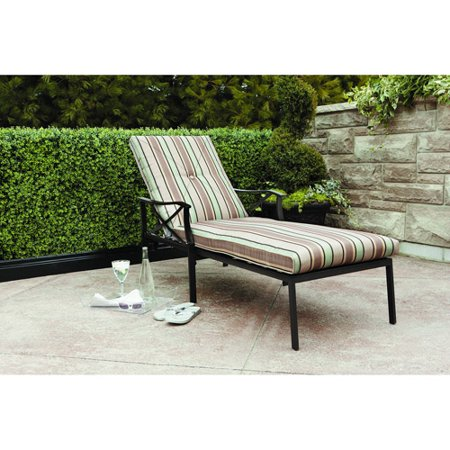 Steel lounger for Chaise lounge at walmart