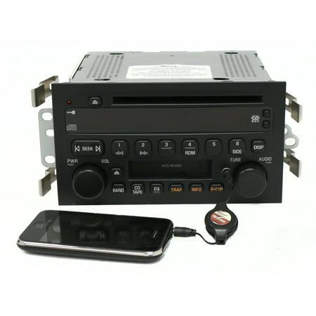 2002-2003 Oldsmobile Aurora Radio AM FM Cassette CD player Part Number 25734856 - Refurbished