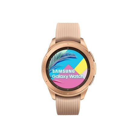 SAMSUNG Galaxy Watch - Bluetooth Smart Watch (42 mm) - Rose Gold - SM-R810NZDAXAR
