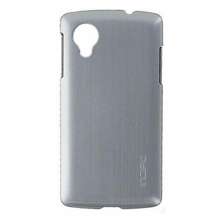 Slvr Series - Incipio Feather Shine Series Slim Hardshell Case for LG Nexus 5 - Dark Silver