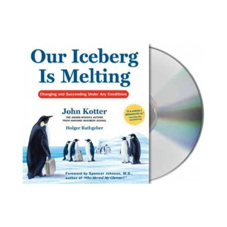 our iceberd is melting Most of the denizens of the antarctic penguin colony sneer at fred, the quiet but observant scout who detects worrying signs that their home, an iceberg, is melting.