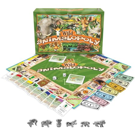 - Wild Animalopoly Board Game