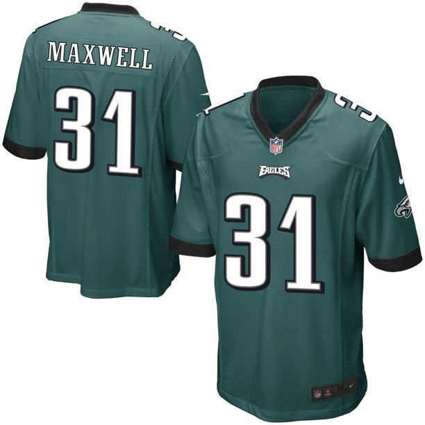 Byron Maxwell Philadelphia Eagles Nike Youth Game Jersey - Midnight Green