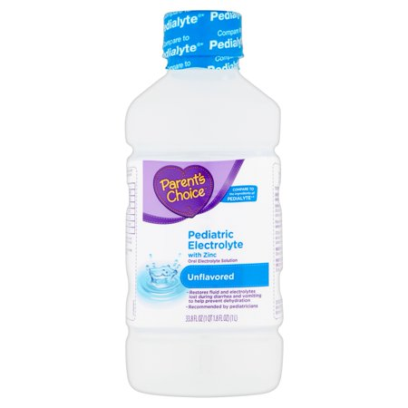 Parents Choice Unflavored Pediatric Electrolyte Drink  1 L