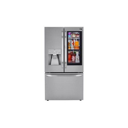 LG 24 Cu. Ft. Counter Depth French Door Refrigerator-PrintProof Stainless Steel