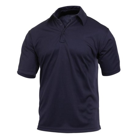 Rothco Tactical Performance Polo Shirt, Midnight Navy Blue