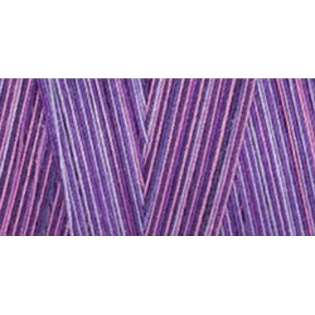 Star Mercerized Cotton Thread Variegated 1,200yd - Violet Eve Variegated Cotton Quilting Thread