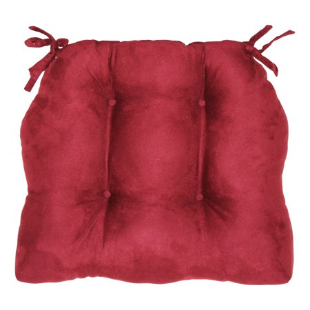 Brentwood Originals Faux Suede Chair Cushion, 16