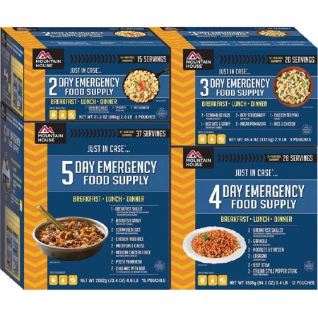 Mountain House Just In Case® 14-Day Emergency Food