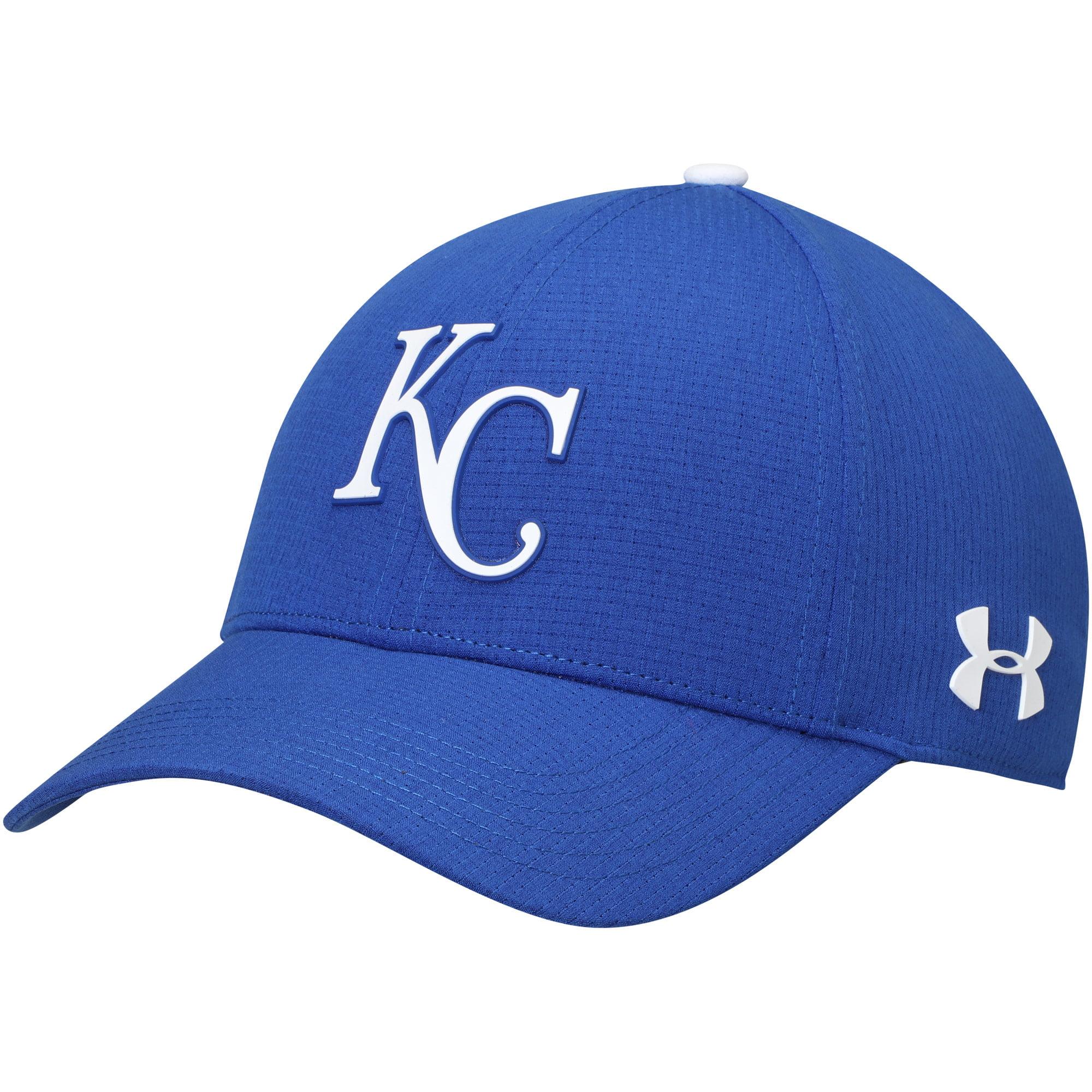 Kansas City Royals Under Armour MLB Driver Cap 2.0 Adjustable Hat - Royal - OSFA