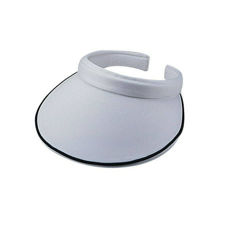 Women's Piping Clip On Visor (Floral Visor)