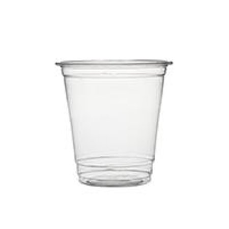 (200 pcs) 8oz Clear Plastic Disposable Cups - Premium 8 oz (ounces) Crystal Clear PET Cup for Cold Drinks Iced Coffee Tea Juices Smoothies Slushy Soda Cocktails Beer Sundae Kids Safe (8oz Cups)](Plastic Beer Cups Wholesale)