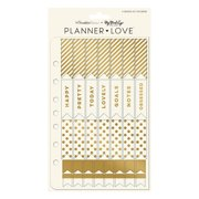 FranklinCovey Planner Love Sticker Sheets - Gold