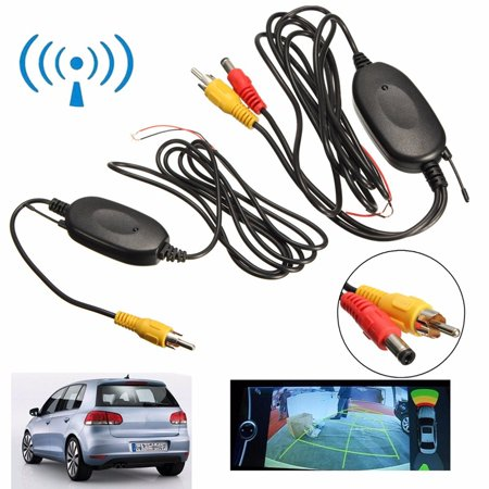 iMeshbean 2.4G Wireless Color Video Transmitter & Receiver for Car Rear Backup View Camera