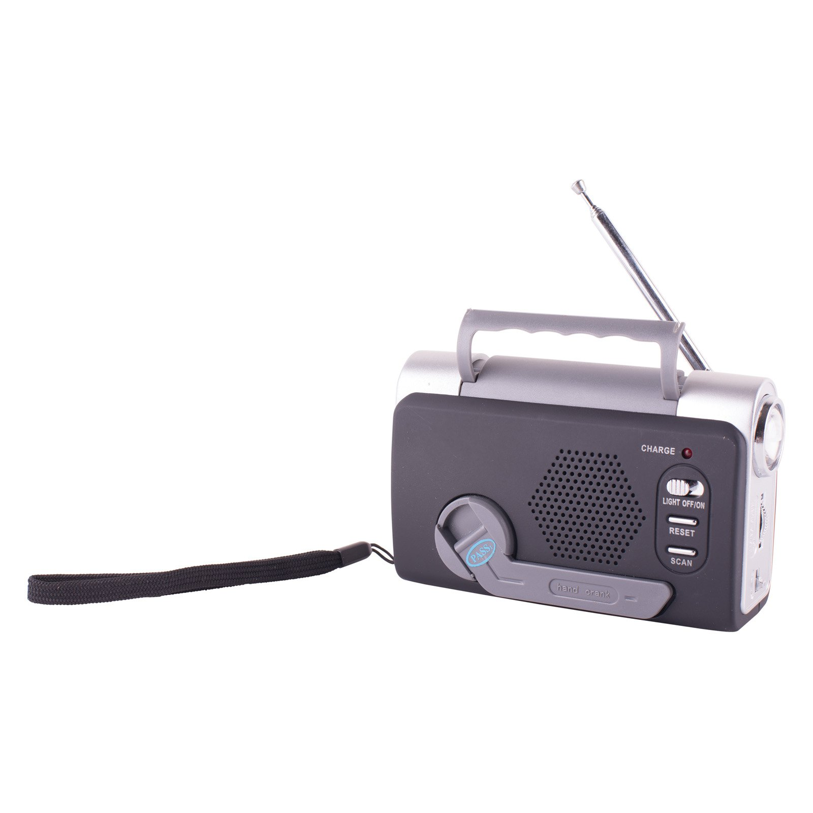 Stansport FM Weather Band Dynamo Radio by Stansport