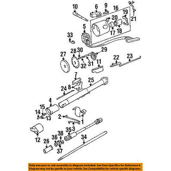 Jeep CHRYSLER OEM 1994 Cherokee Steering Column-Pin 52038366